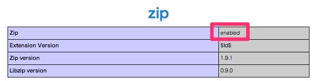 phpinfo_zip