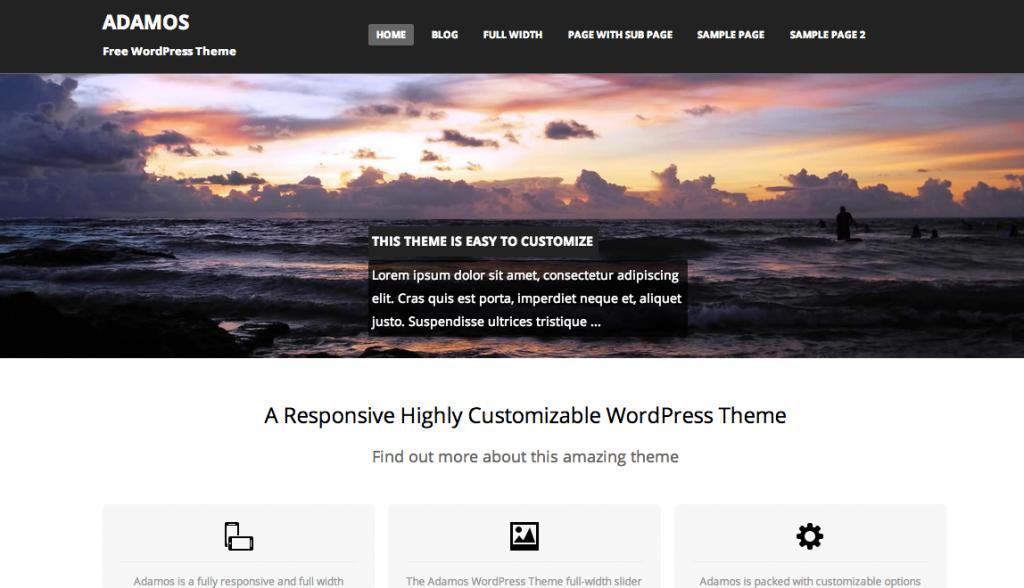 ADAMOS___Free_WordPress_Theme